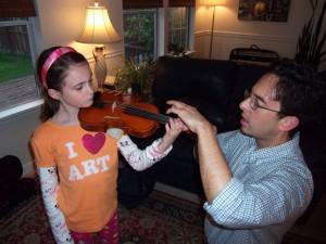 Violin Lesson with Briauna